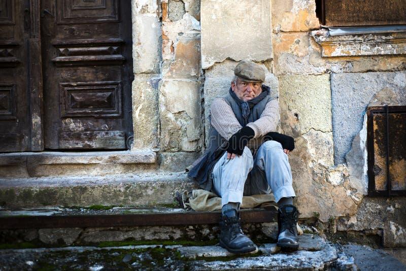 Homeles Man Stock Photos