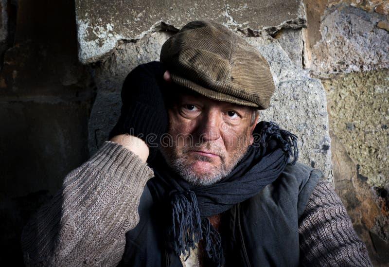 Download Homeles man stock image. Image of black, beggar, human - 27497971