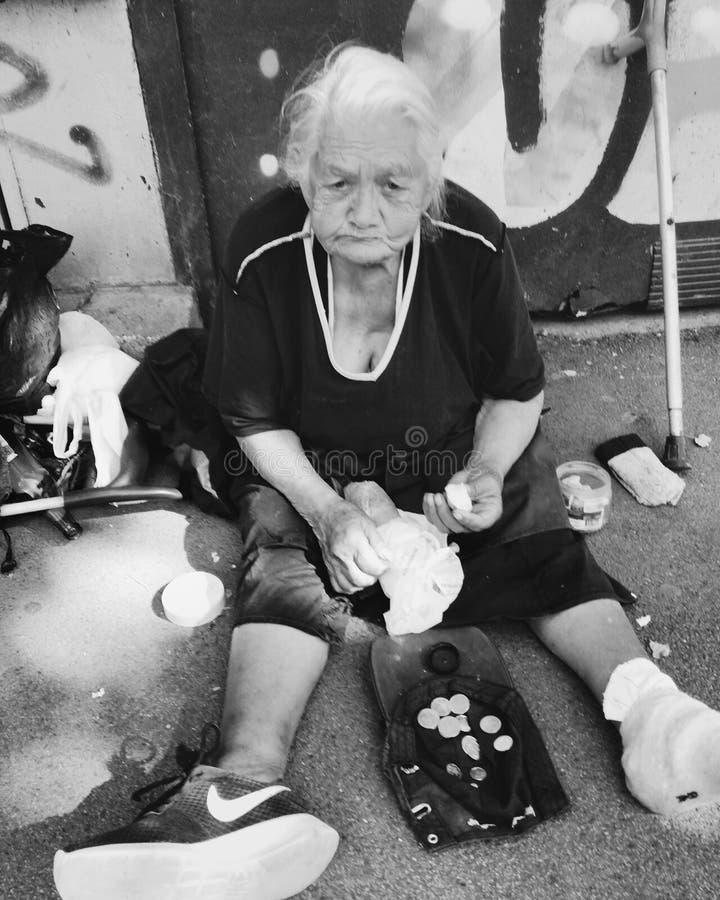 homeless image stock