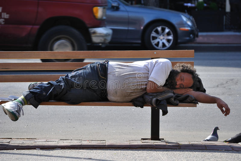 Download Homeless editorial stock image. Image of sleeping, street - 18042409