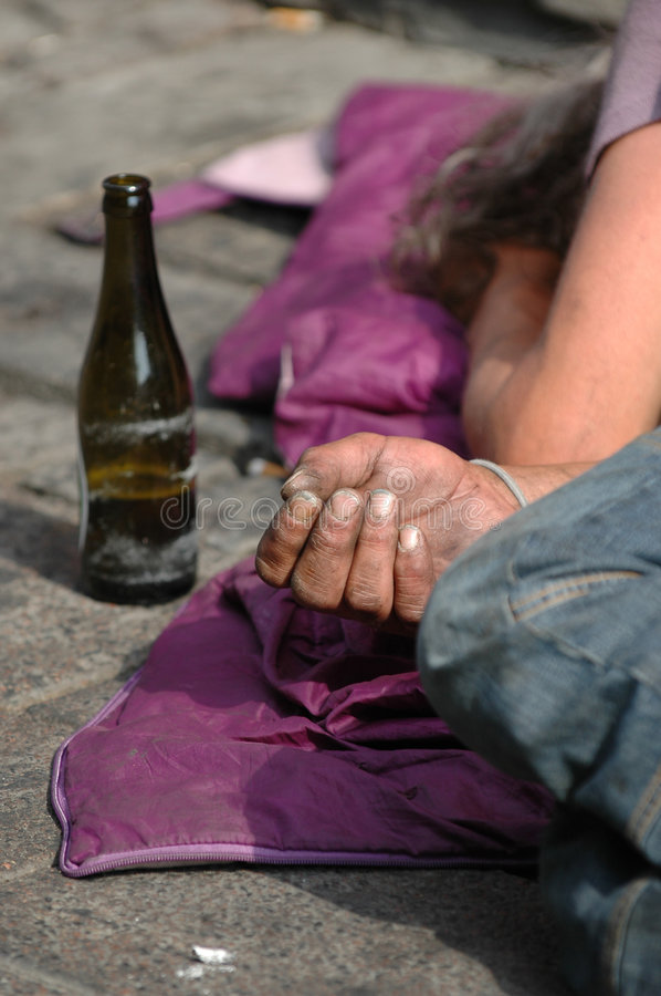 Homeless royalty free stock images