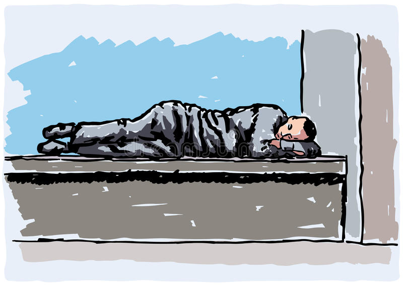 Download Homeless stock vector. Illustration of charity, homelessness - 24227471