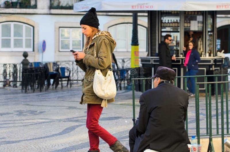 homeless fotografia stock