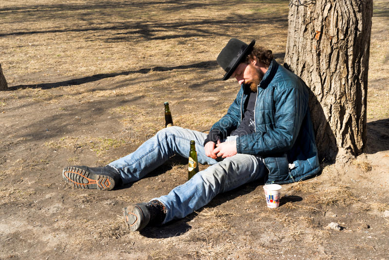 homeless foto de archivo