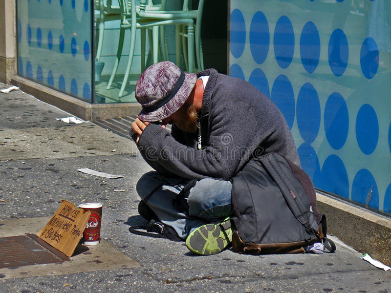 homeless fotografia stock libera da diritti