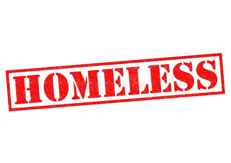 homeless illustration libre de droits