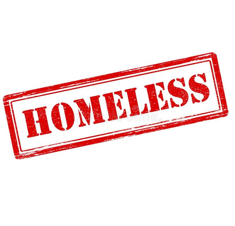 homeless illustration stock