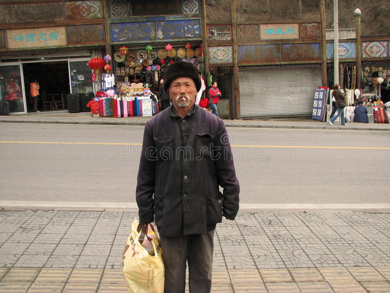 Download Homeless Man In Yanqing County Editorial Photo - Image: 21545061