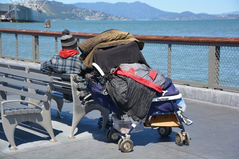 Homeless royalty free stock image