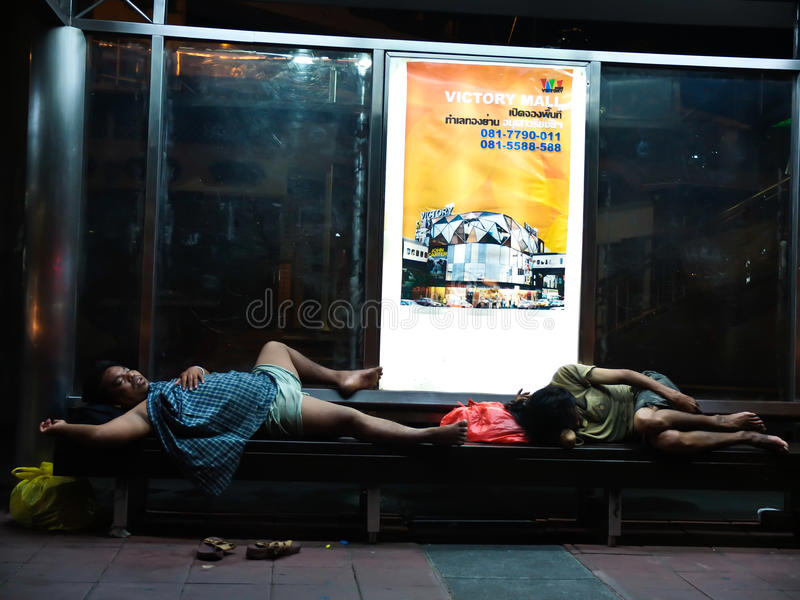 Download Homeless in Thailand editorial photography. Image of alone - 33603387