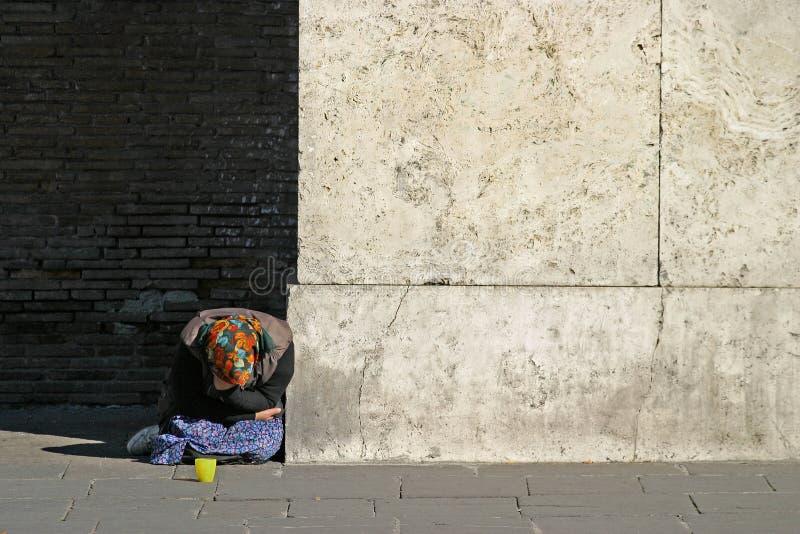 homeless VI стоковое изображение