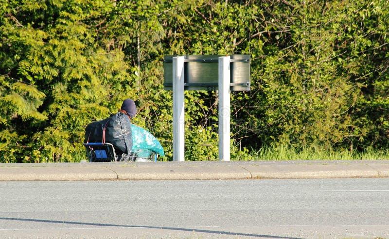 homelessness royaltyfri bild