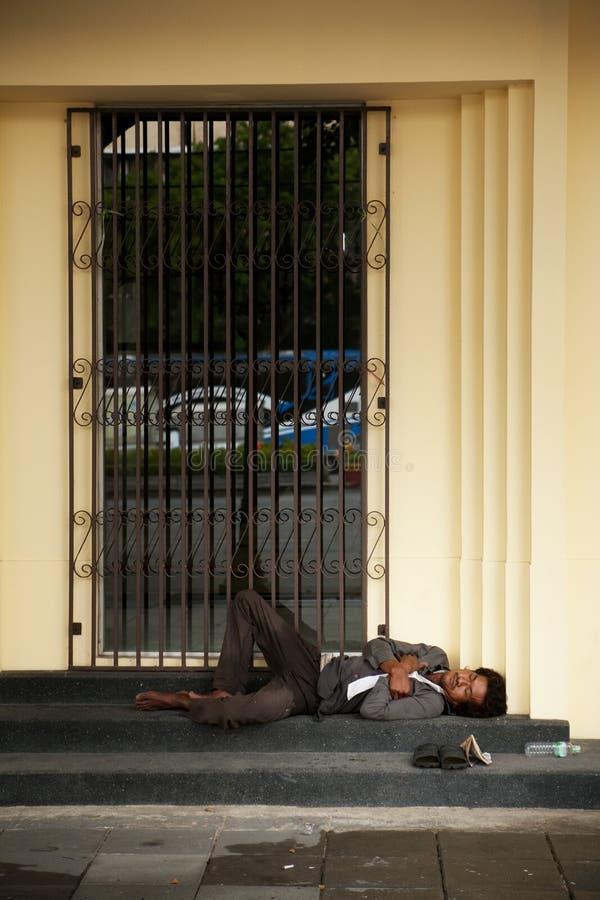 homelessness fotografie stock libere da diritti