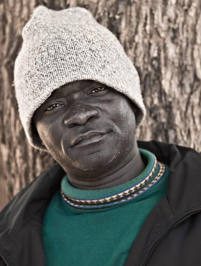 Homem africano foto de stock