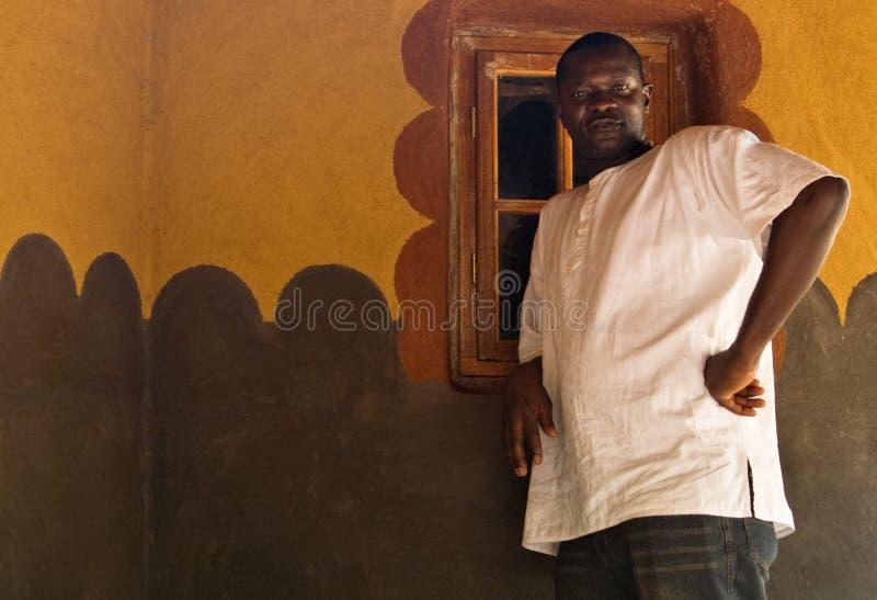 Homem africano fotografia de stock royalty free