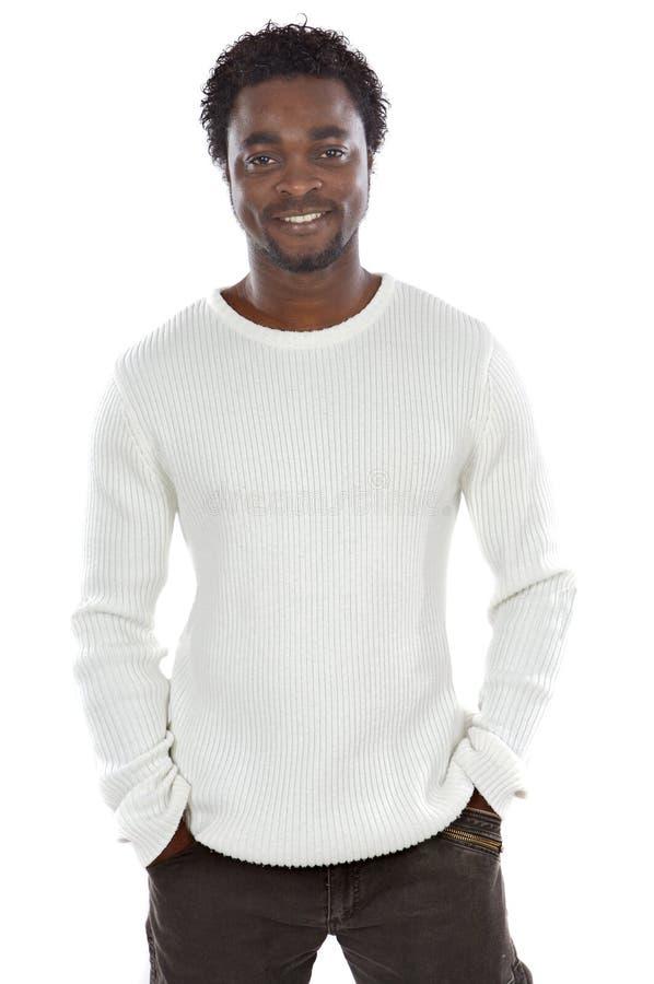 Homem africano atrativo fotografia de stock