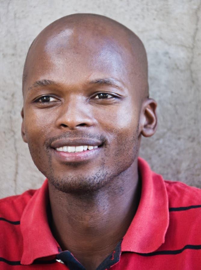 Homem africano novo imagens de stock