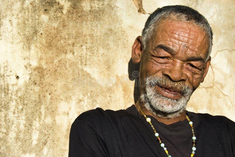 Homem africano sênior imagens de stock royalty free