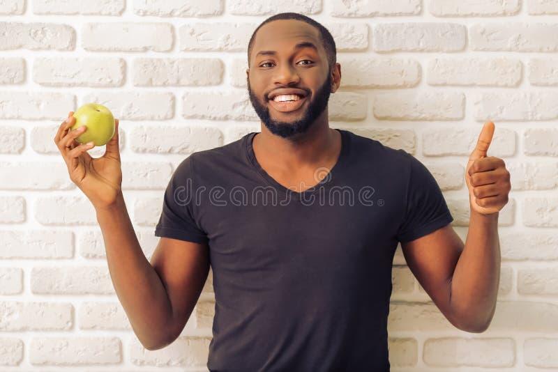 Homem afro-americano imagens de stock royalty free