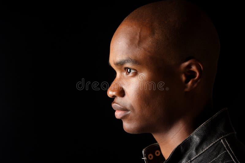 Homem afro-americano novo. imagem de stock