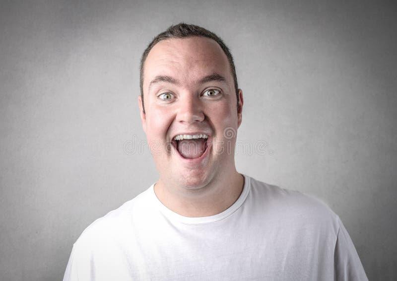 Homem alegre fotos de stock