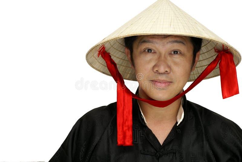 Homem amigável de Vietnam fotografia de stock royalty free