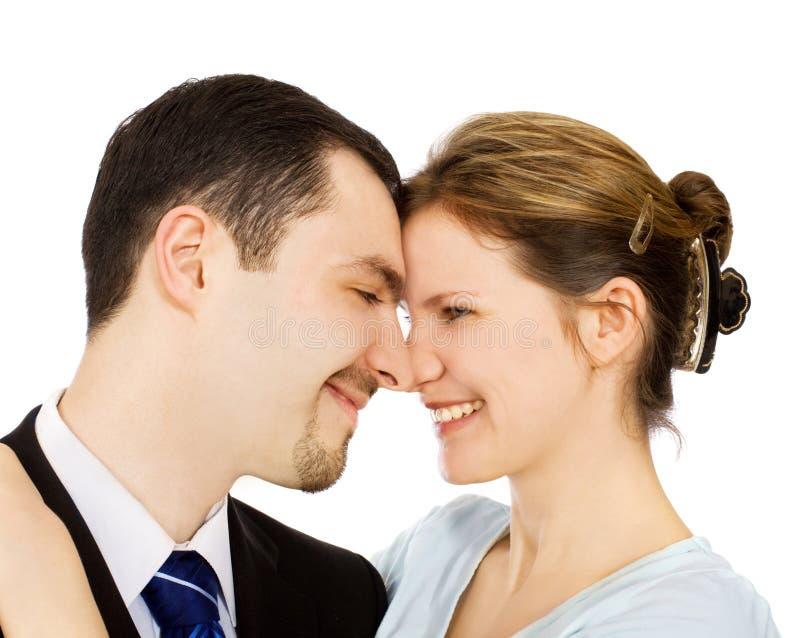 Homem & mulher imagens de stock