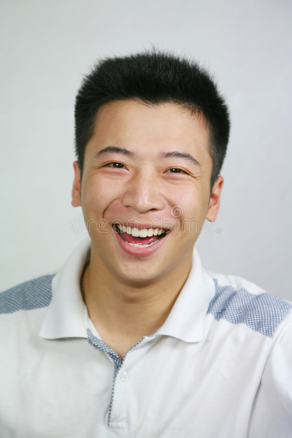 Homem asiático foto de stock royalty free