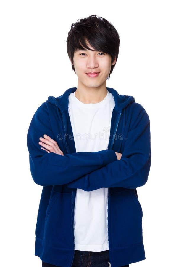 Homem asiático fotografia de stock