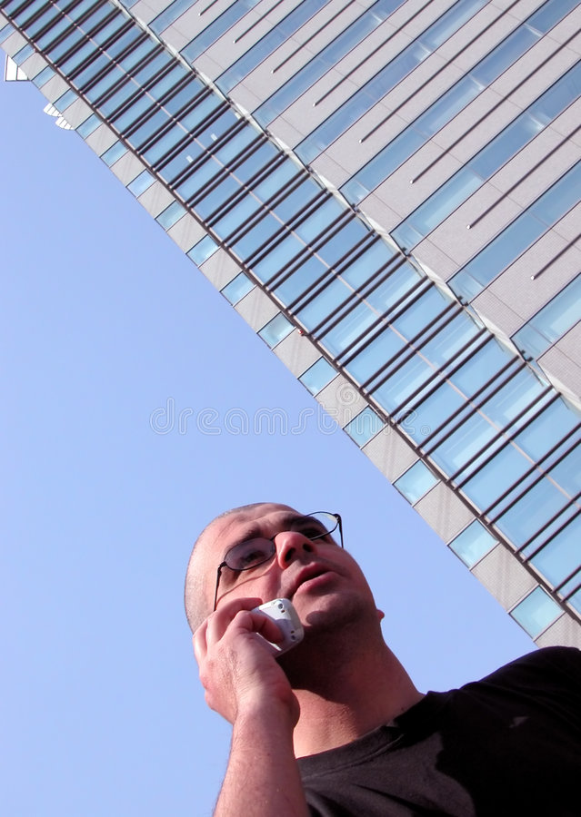Download Homem ativo foto de stock. Imagem de moderno, discussão - 107088