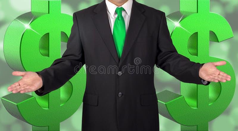 Homem bem sucedido vestido Sharp foto de stock royalty free