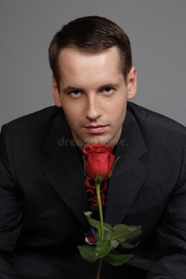 Homem bonito fotografia de stock royalty free