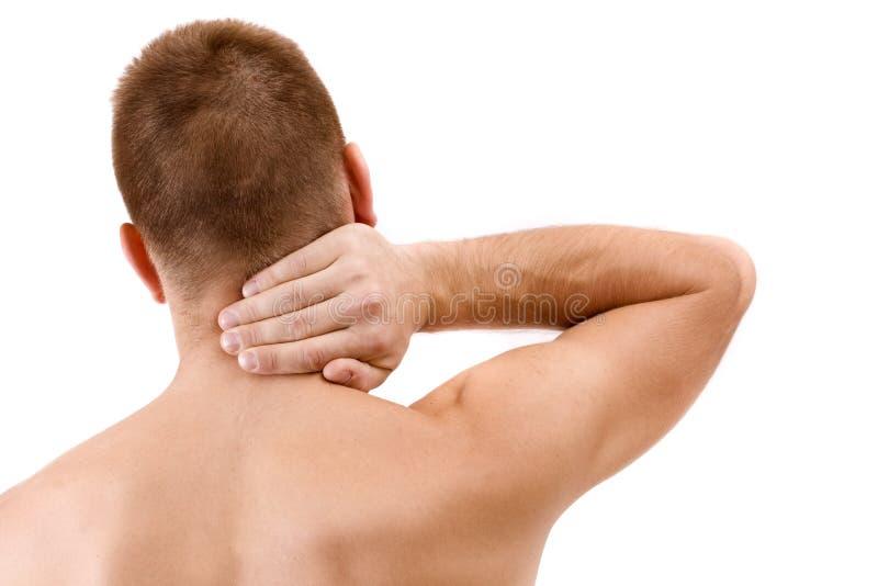 Download Homem com dor de garganta imagem de stock. Imagem de expressão - 16850541