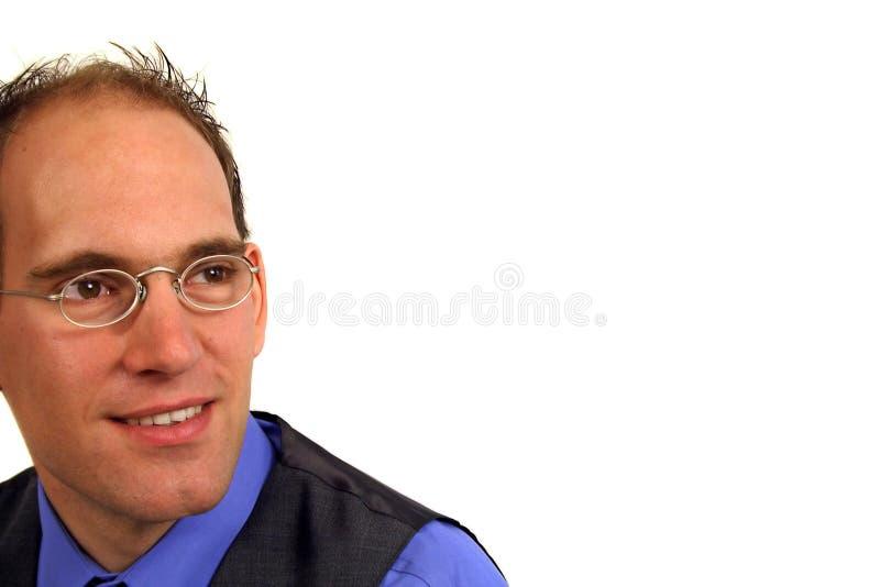 Homem com Eyeglasses fotos de stock