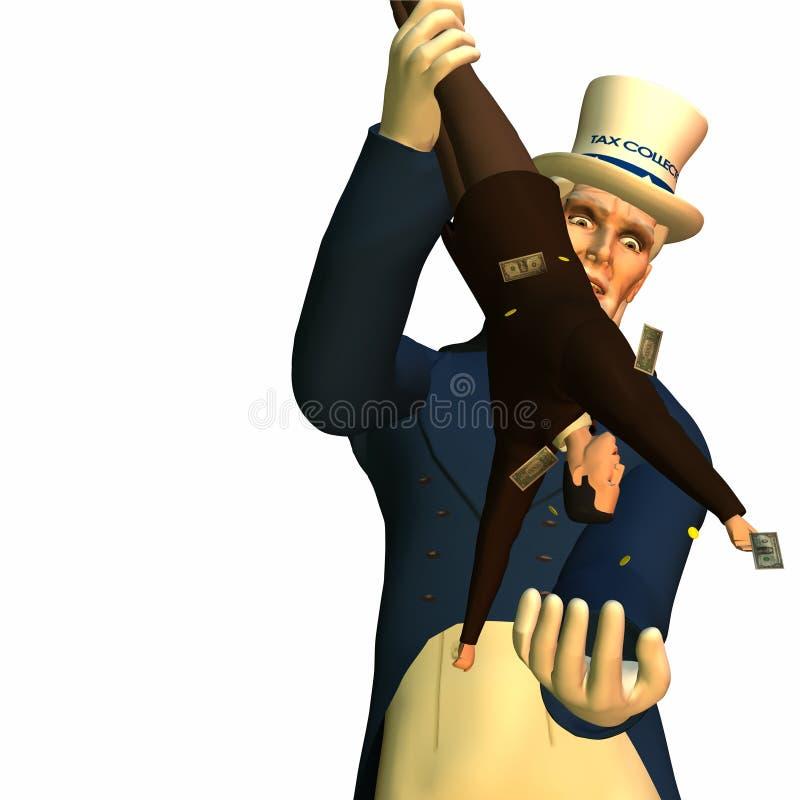 Homem Cometh 1 do imposto ilustração do vetor