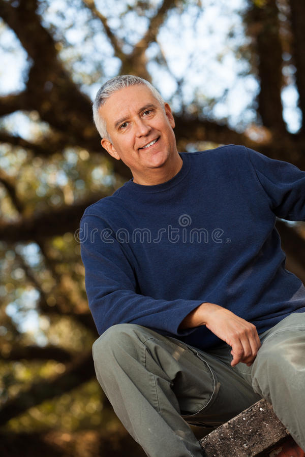Homem considerável imagem de stock royalty free