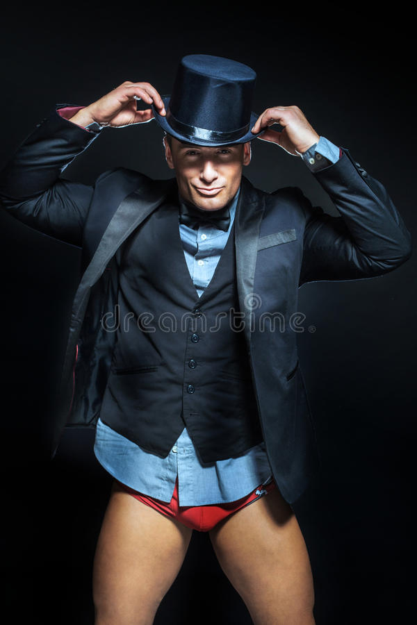 Homem considerável elegante fotografia de stock