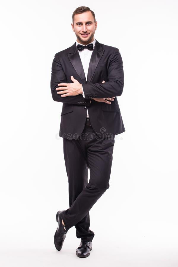 Homem considerável no terno imagens de stock