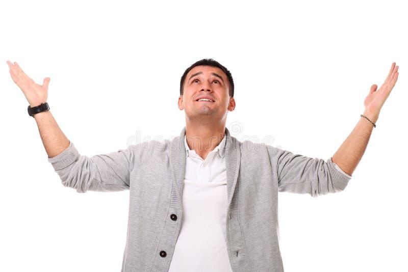 Homem considerável novo confundido fotos de stock royalty free
