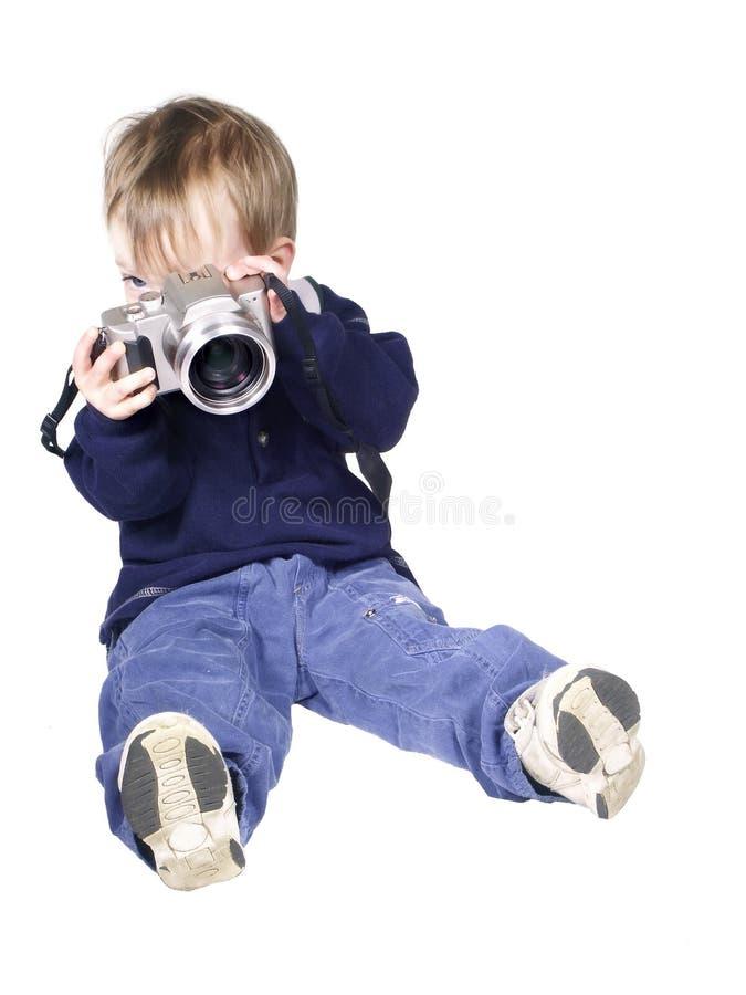 Homem da câmera imagem de stock royalty free