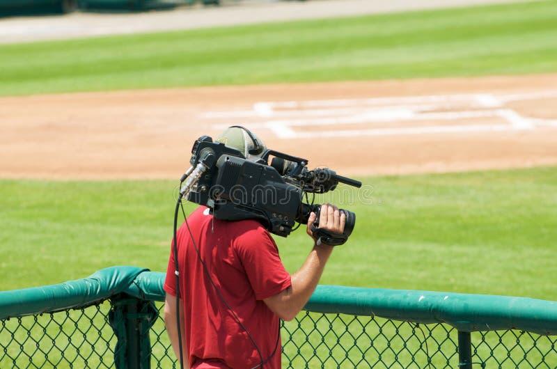 Homem da câmera fotos de stock