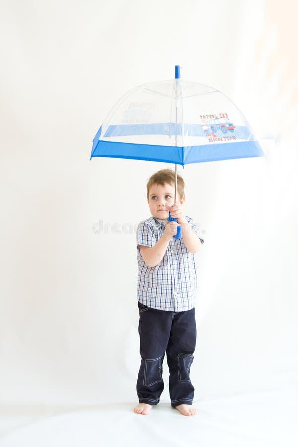 Homem da chuva imagens de stock royalty free