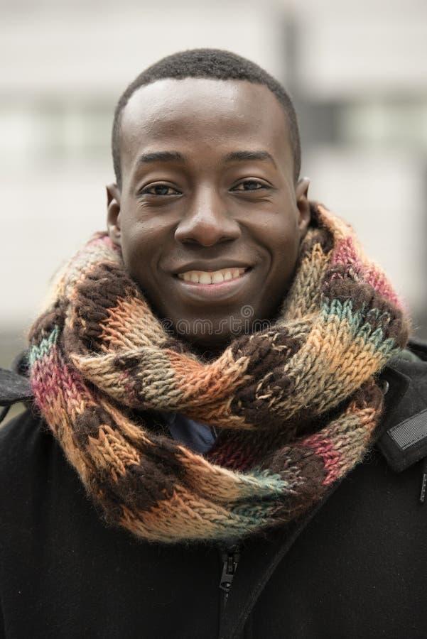 Homem da rua africano considerável imagens de stock