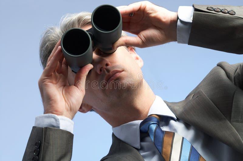 Homem da visão foto de stock