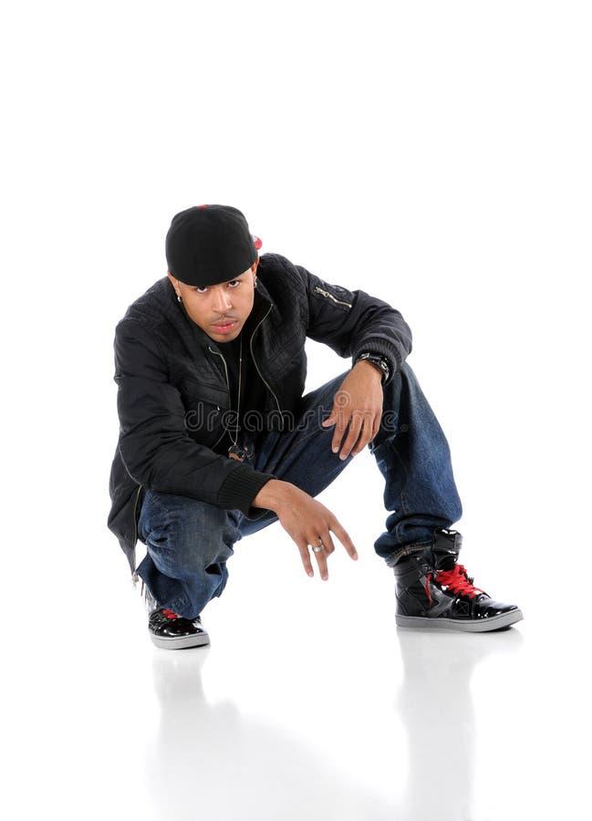 Homem de Hip-Hop imagem de stock
