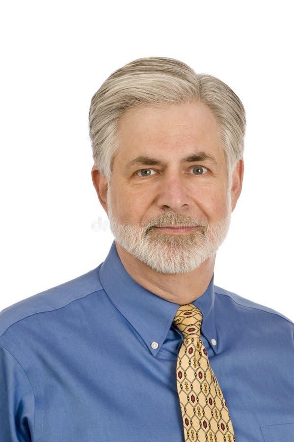 Homem de meia idade fotografia de stock
