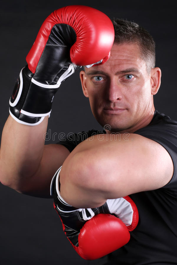 Homem de MMA imagens de stock