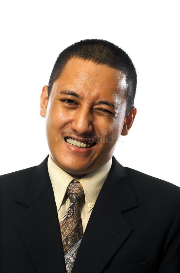 Download Homem de negócio imagem de stock. Imagem de líder, feliz - 12806829