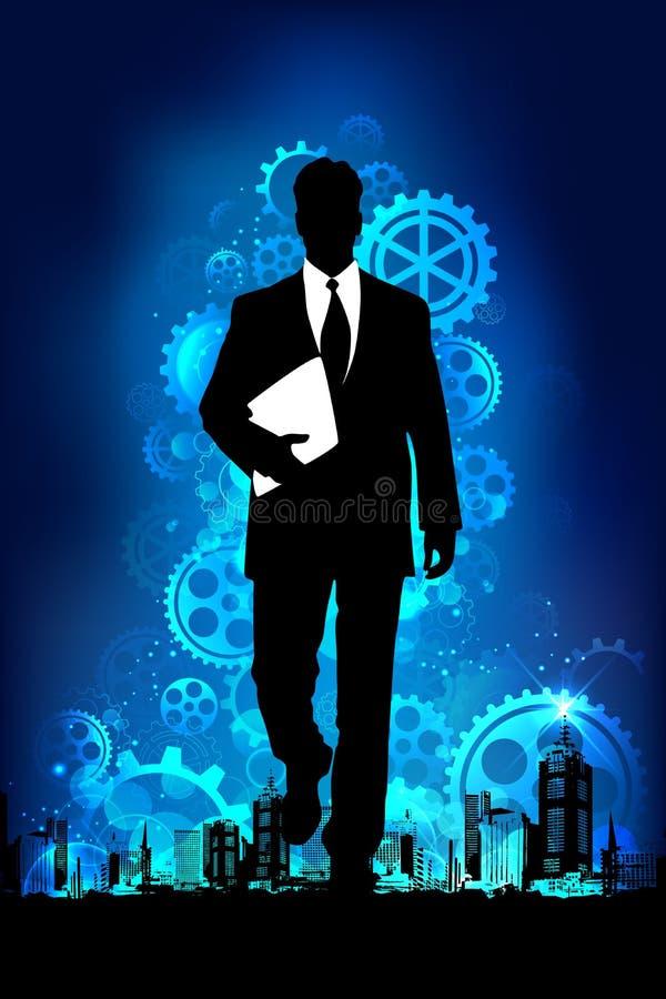 Homem de negócio ilustração royalty free
