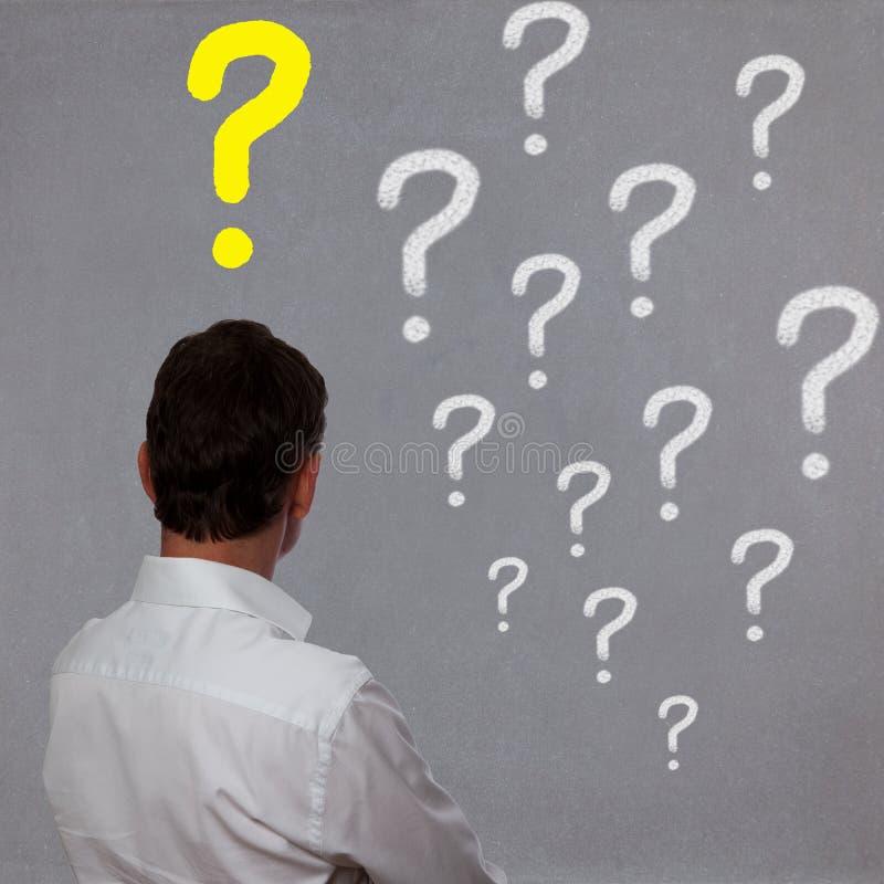 Download Homem de negócio foto de stock. Imagem de visão, problemas - 26521930